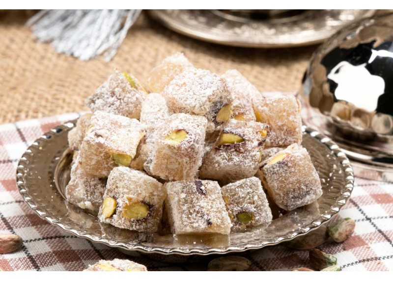 Turkish Delight with Double-Roasted Pistachio